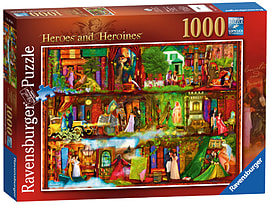 Heroes and Heroines 1000 PiecesPuzzles and Board Games