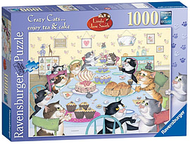 Linda Jane Smith, Enjoy Tea and Cake 1000pcPuzzles and Board Games