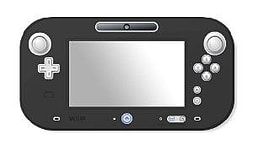 Crown Controller Silicone Skin - Black Wii U