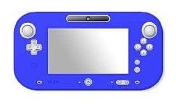 Crown Controller Silicone Skin - Blue Wii U