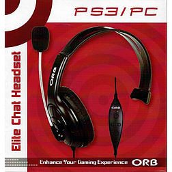 ORB Elite Chat Headset PS3
