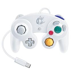 Nintendo GameCube Controller Super Smash Bros Edition - WHITE Wii U