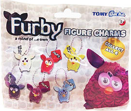 Furby Collectable Figure CharmsFigurines