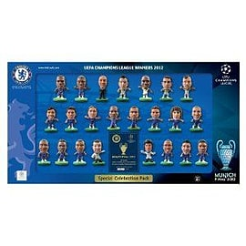 Soccerstarz - Limited Edition Chelsea Champions League Celebration Pack 2012Figurines