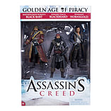 Assassin's Creed Golden Age Piracy - 3 Pack Figure (includes Black Bart, Blackbeard And Hornigold) screen shot 1