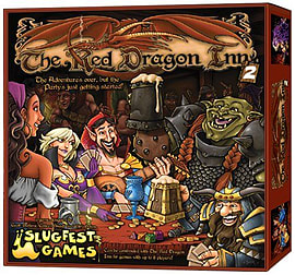 The Red Dragon Inn 2Puzzles and Board Games