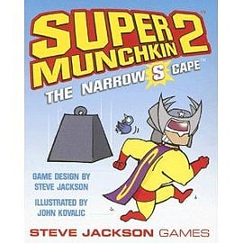 Super Munchkin 2: Narrow S-capePuzzles and Board Games
