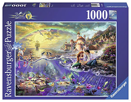 Thomas Kinkade Disney Ariel 1000pcPuzzles and Board Games