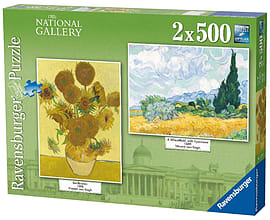 National Gallery - Vincent Van Gogh 2x500pcPuzzles and Board Games