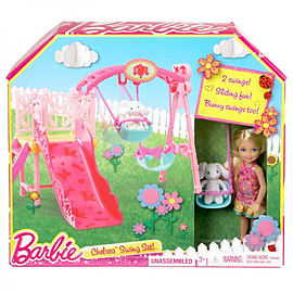 Barbie Chelsea Swing SetFigurines