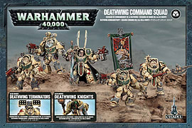 Warhammer 40,000 Deathwing Command SquadFigurines