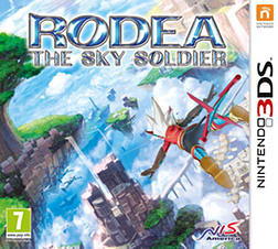 Rodea The Sky Soldier2DS/3DSCover Art
