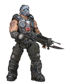 Gears Of War Series 1 - Clayton Carmine Pvc Action Figure (9cm)Figurines