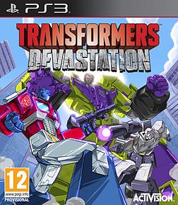Transformers Devastation PlayStation 3