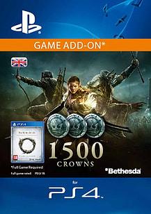 Elder Scrolls Online: Tamriel Unlimited - 1,500 Crowns for PS4