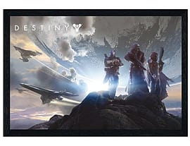 Destiny Black Wooden Framed Trio Maxi Poster 91.5x61cmPosters