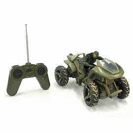 Halo 10th Anniversary 8 inch Radio Control Mongoose with Master ChiefFigurines