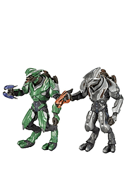 Halo Reach: Series 3 Covenant Rangers - Elite Office and Elite UltraFigurines