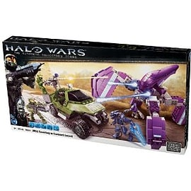 Halo Wars UNSC Gausshog vs Covenant LocustFigurines