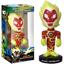 Ben 10 Bobblehead - Heat BlastFigurines