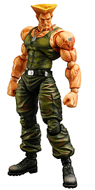 Super Street Fighter IV Arcade Edition Guile Play Arts Volume 3Figurines