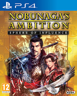 Nobunaga's Ambition: Sphere of InfluencePlayStation 4Cover Art