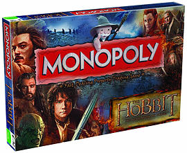 Monopoly The Hobbit Desolation of SmaugPuzzles and Board Games