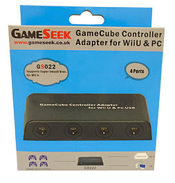 GameSeek Mayflash GameCube Controller Adapter for Wii U and PC Wii U