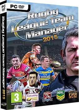 Rugby League Team Manager 2015PCCover Art