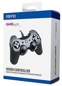 GAMEware PS3 Wired ControllerAccessories