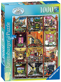 Colin Thompson - Higgledy-Piggledy House, 1000pcPuzzles and Board Games
