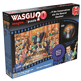 Wasgij Imagine If The Conservatives Win The General Election Jigsaw PuzzlePuzzles and Board Games