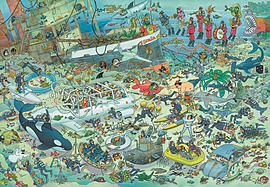 Jan Van Haasteren Deep Sea Fun Puzzle (2000 Pieces)