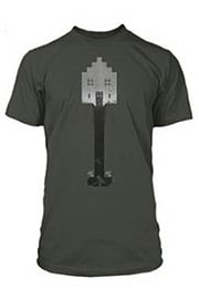 Boys Minecraft T-shirt Mine Craft Tshirt Official SHOVEL Youth 7-8 DARK GREYClothing and Merchandise