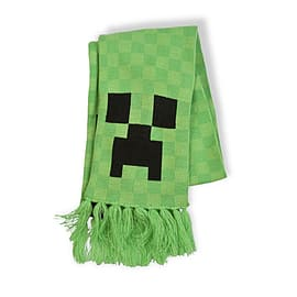 Officially Licensed JINX MINECRAFT CREEPER SCARF Mine craft ScarfClothing and Merchandise