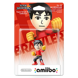 Mii Fighter - amiibo - Super Smash Bros CollectionToys and GadgetsCover Art