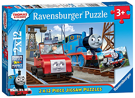 Thomas 2x12pcPuzzles and Board Games