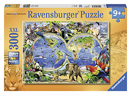 World of Wildlife, 300pcPuzzles and Board Games