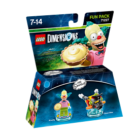 Krusty The Clown Fun Pack - LEGO Dimensions - The SimpsonsLEGO Dimensions