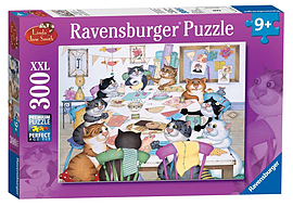 Crazy Cats Make do and Mend, XXL 300Puzzles and Board Games