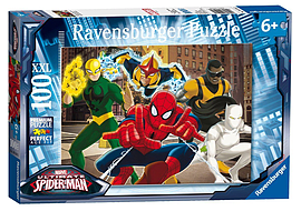 Marvel Spider-Man XXL100Puzzles and Board Games