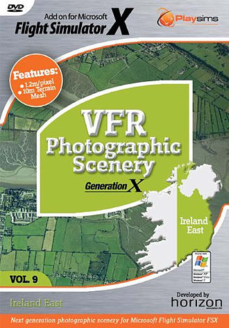 VFR Photographic Scenery Generation X - Volume 9 - Ireland East for FSX