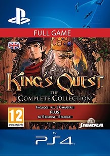 King's Quest: The Complete CollectionPlayStation 4Cover Art