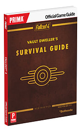 Fallout 4 Vault Dweller's Survival GuideStrategy Guides & Books