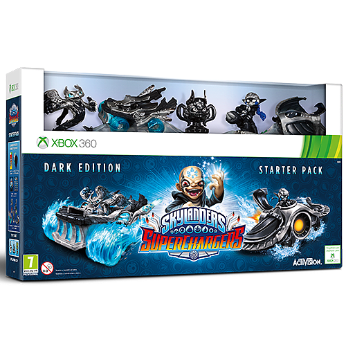 Skylanders Superchargers Dark Edition - Only at GAME Xbox 360