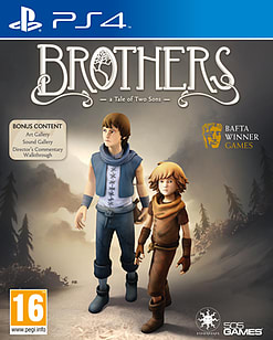 Brothers: A Tale of Two SonsPlayStation 4Cover Art