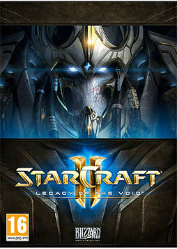 Starcraft 2: Legacy of the VoidPCCover Art