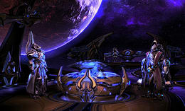 Starcraft 2: Legacy of the Void screen shot 9