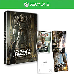 Fallout 4 Steelbook & PostcardsXbox OneCover Art