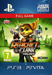 Ratchet and Clank TrilogyPS Vita